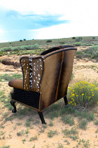 Wild West Wingback Chair
