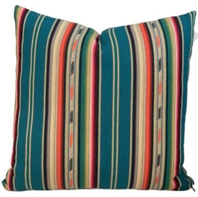 Wind Dancer Serape Pillow