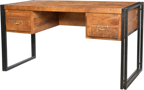 Jasper Iron Frame Writing Desk