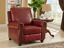 Load image into Gallery viewer, Raleigh Red Recliner