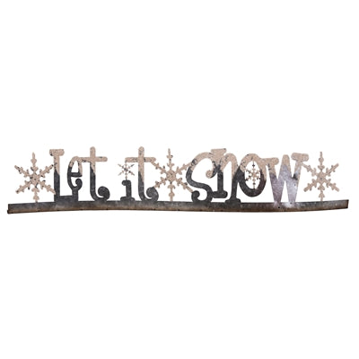 Let It Snow Table Sign