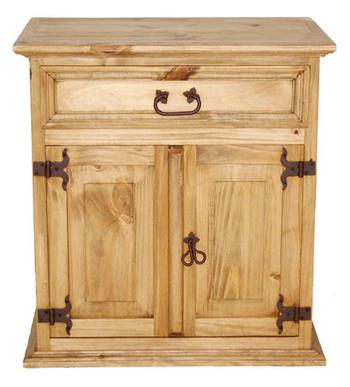 Mansion Collection 2 Drawer 1 Door Nightstand