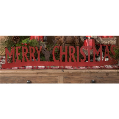 Merry Christmas Table Sign