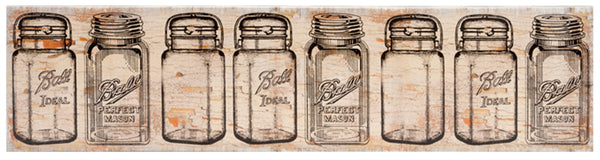 Mason Jars Canvas