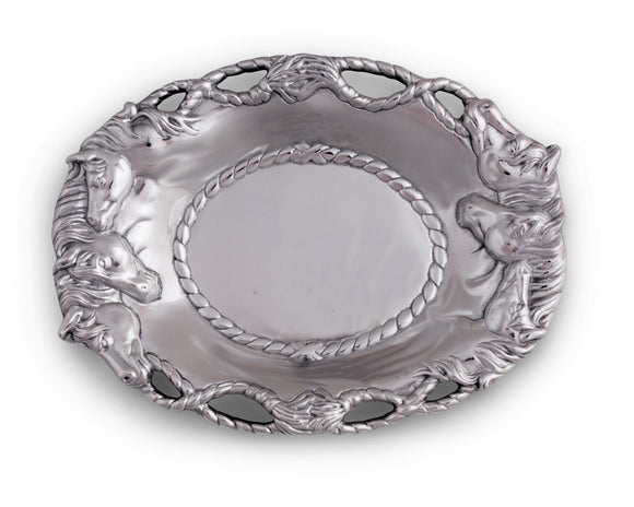Oval Centerpiece Tray