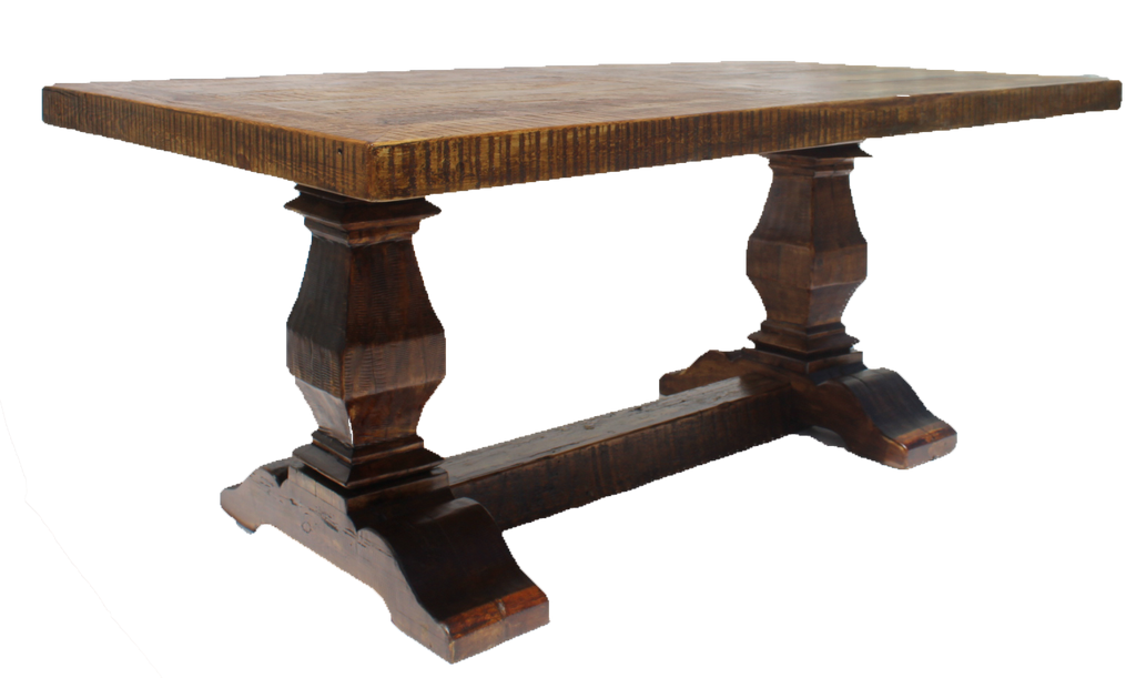 Old Fashioned Dining Table (10-12')