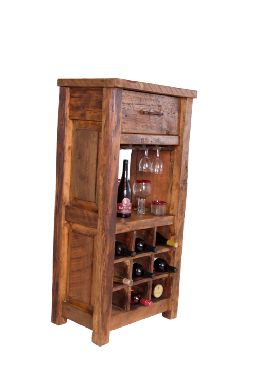 Old Fashioned Wine Cabinet