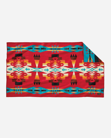 Scarlet Tucson Saddle Blanket