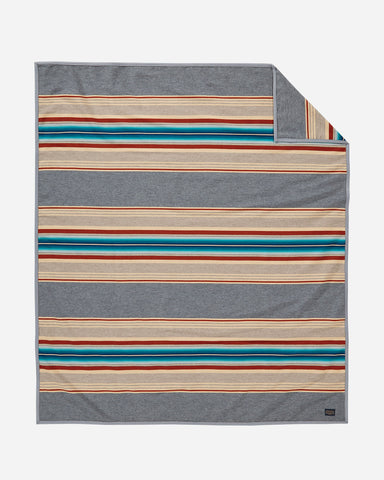 Grey Serape Robe