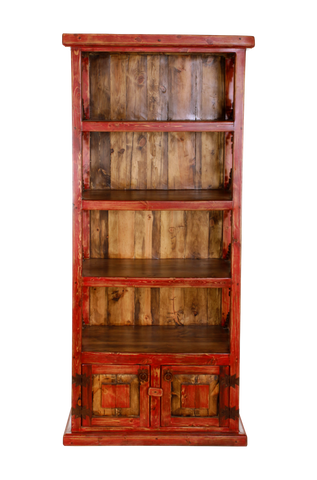 Iron Scroll Bookcase