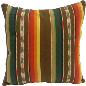 Durango Stripe Serape Pillow
