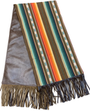 Serape Table Runner with Fringe