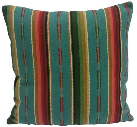 Dancing Waters Serape Pillow