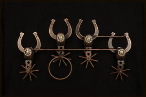 Assorted Metal Towel Bar Set