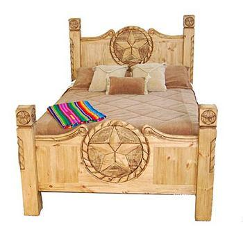Texas Star Rope Bed