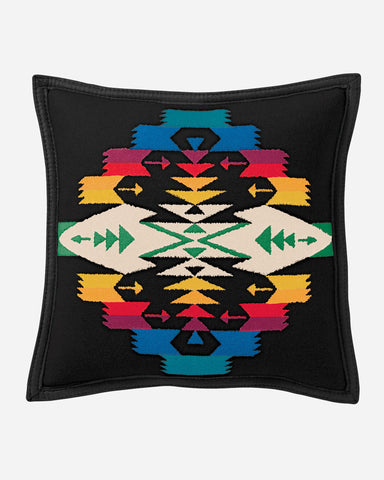 Tucson Black Throw Pillow