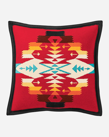 Tucson Scarlet Throw Pillow