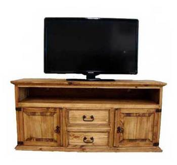 Two Drawer Two Door TV Stand