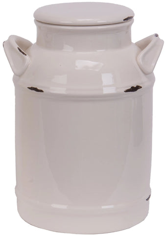 Milk Can Cookie Jar