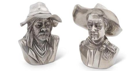 Cowboy Salt & Pepper Shakers
