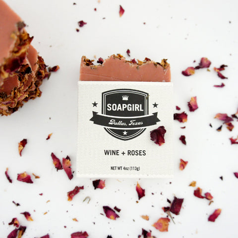 Wine + Roses Artisanal Soap