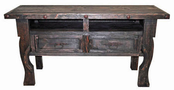 Dark Yugo Console Sofa Table