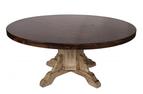 Alder Round Dining Table