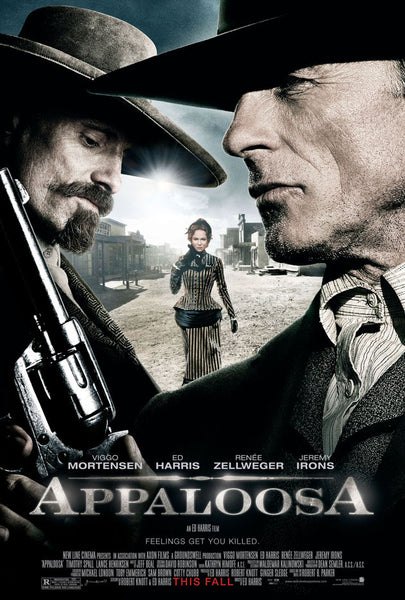 Appaloosa (2008) Movie Poster Print w/Wooden Frame & Glass