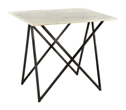 Denali Marble End Table