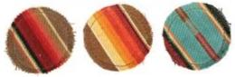 Serape Coaster Set (4)