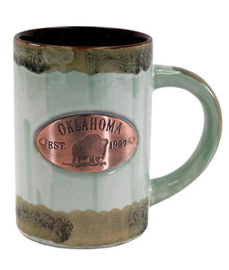 Copper Medallion Mug