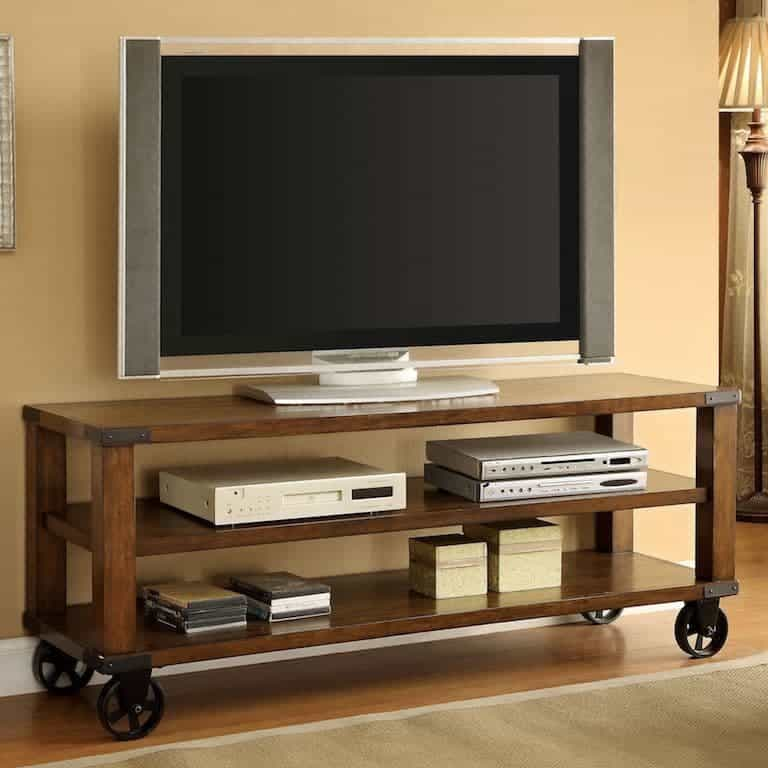Caster TV Stand