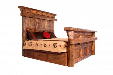 Old Fashioned Storage Bed