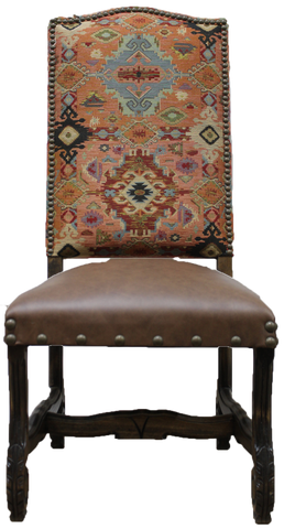 Zephyr Adobe Regency Chair