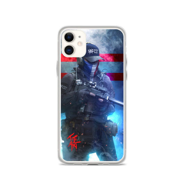 "Coque ""French Tactical"" pour iPhone CDTARGET"