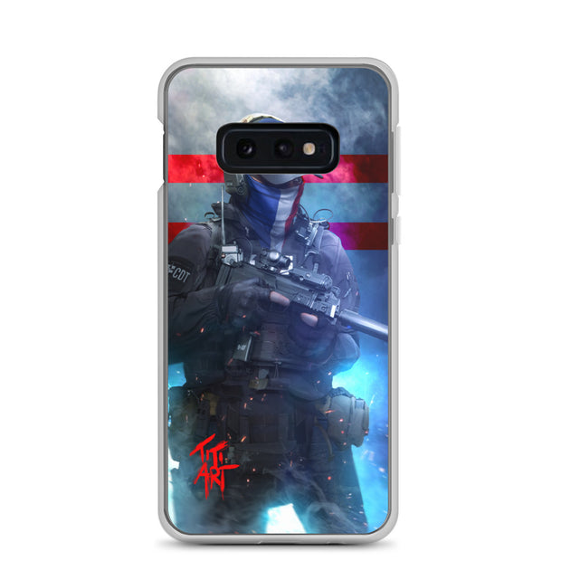 "Coque ""French Tactical"" Samsung"