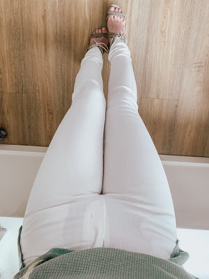 Aimee Perfectly White Skinnies