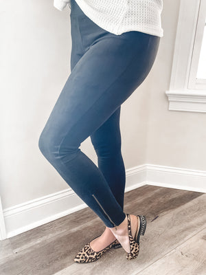 Nina Faux Suede Leggings