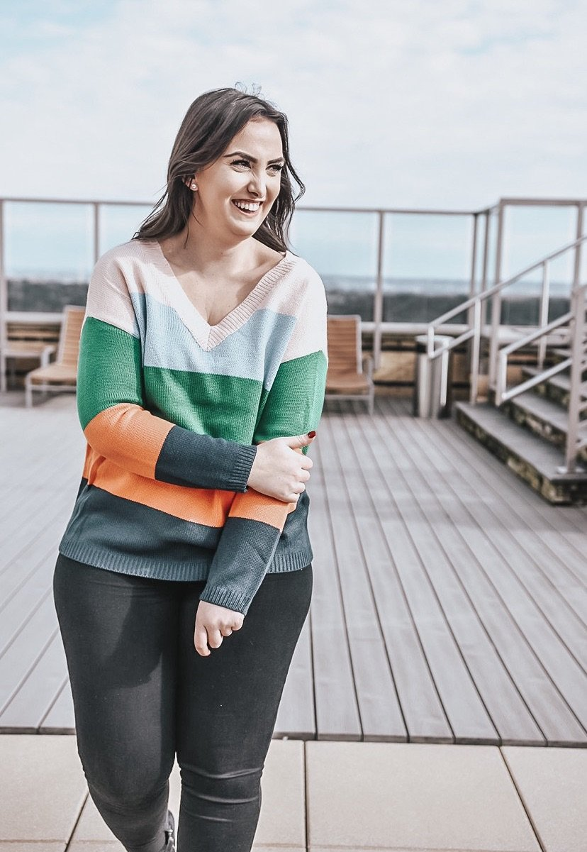 Paula Colorblock Sweater