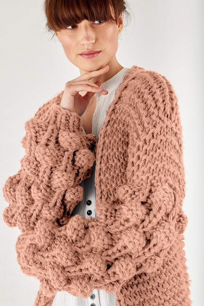 Extreme Chunky Knit Cardigan