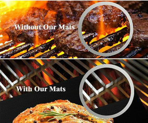 TOUGH STUFF - Heavy Duty BBQ Grill Mats.