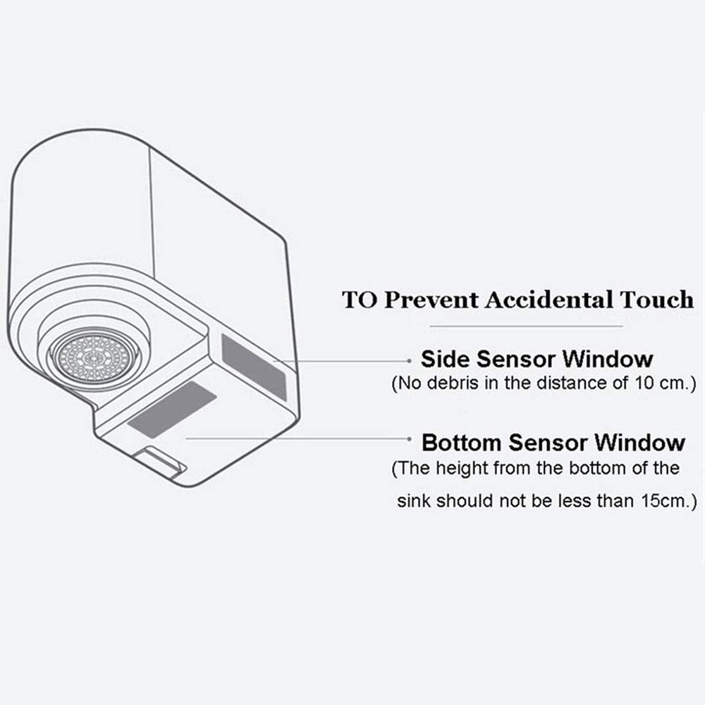 Touchless Water Saver Sensor