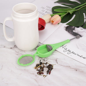 Tea-Infuser Leaf Tea Strainer Spoon