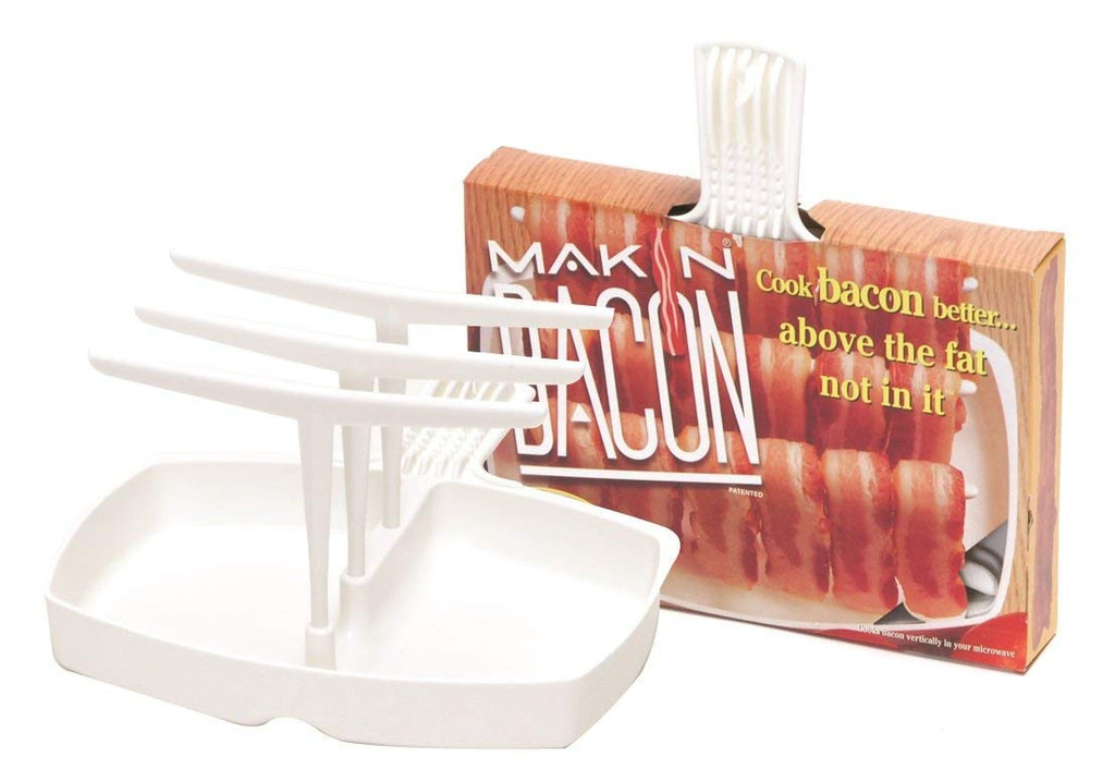 Microwave Bacon Cooker - The Original Makin' Bacon Microwave Bacon Rack