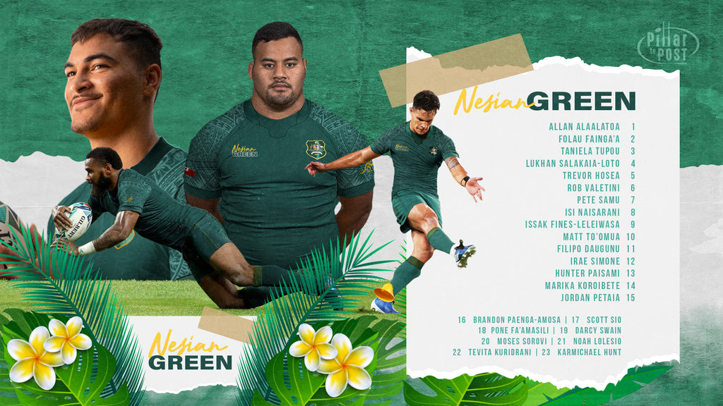 NESIAN GREEN | Australian Pacific Island Rep Team