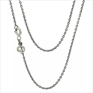 "Sterling Silver Chain (16""/40cm) By OHM"