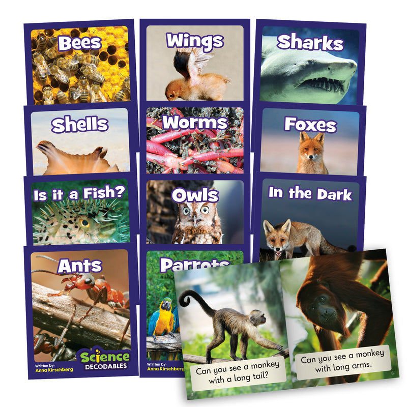 Science Decodables Phase 3 Non-Fiction - 6 Pack