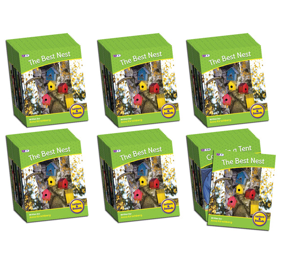 Letters & Sounds Phase 4 Set 2 Non-Fiction - 6 Pack