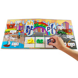 Rainbow Phonics Word City Landscapes
