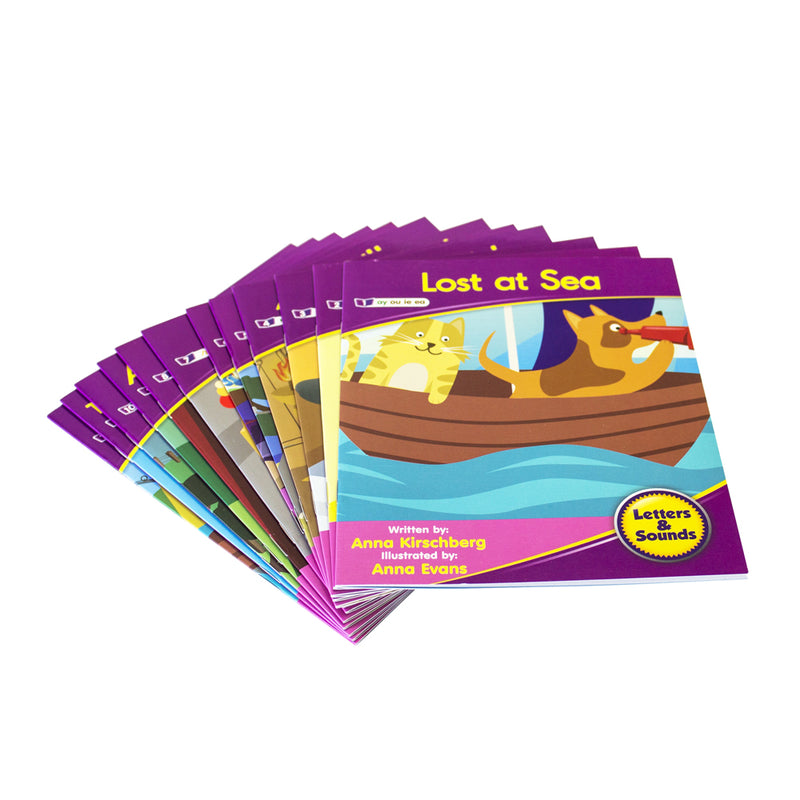 Letters and Sounds Phase 5 Set 1 Fiction - 6 Pack